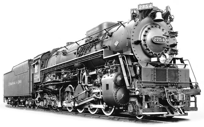 ... was late in bringing the 'Berkshire' class locomotives to it's roster, they quickly became favorites on the system. Having drawn on the designs used by ...